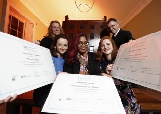 Fundraising Fellows Complete Two-Year Fundraising Fellowship, Dublin Programme With Business To Arts & Dublin City Council Culture Company Raising Over €580,000 Attributed To Three Fundraisers
