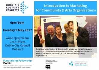 Introduction to Marketing for Community & Arts Organisations