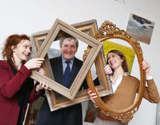 Anne Kelly, Declan Moylan and Claire Powe