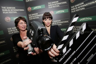 2011 Jameson Dublin International Film Festival Actors Maura Tierneyand Charlene McKenna