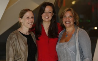 Georgina-Neal-of-For-Impact-(right)-with-Oonagh-Desire-of-Abbey-Theatre-and-Gemma-Duke-of-NCAD