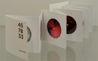 '45 78 33' an artists' book in response to the exhibition Mixtapes