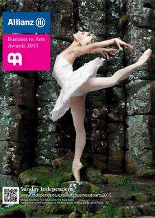2015 Allianz Business to Arts Award cover