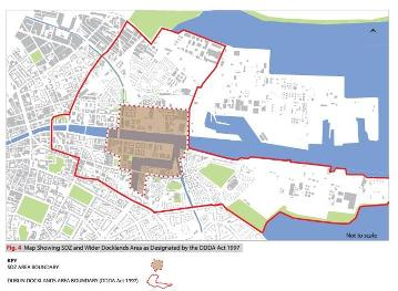 Docklands SDZ and Wider Docklands Area