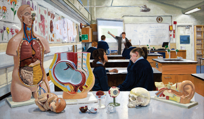 The Biology Lab (Mary Dunne's Class)