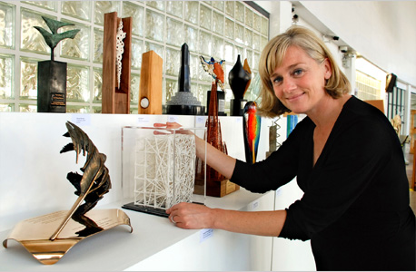 Dara O'Leary, RDS, with the daa commissions from the past 25 years
