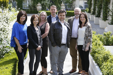 2015 Judging Panel: Ursula Murphy, Catherine Heaney, Ann Mulrooney, Gerard McNaughton, Paul O'Kane, Katie Molony, Tom Molloy (not pictured)