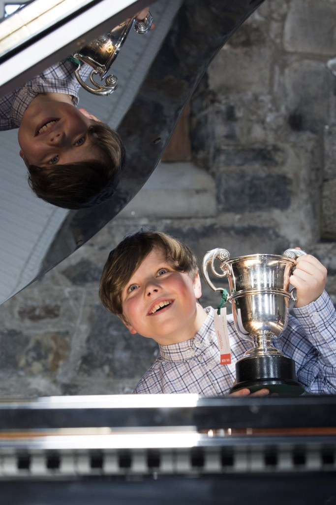 Eoin Maher winner of the John Field Cup at this year's feis