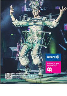 Sunday Independent Supplement for the 2017 Allianz Business to Arts Awards