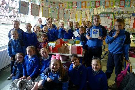 Martina Galvin with St. Patrick's GNS