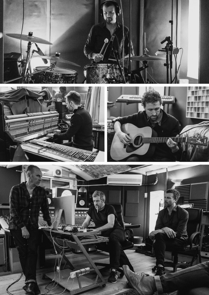 In studio for the recording of the Starboard Home album