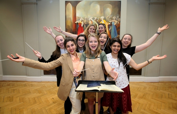 NCH GT Female Conductor Programme Participants 2017 2018 credit Mark Stedman2